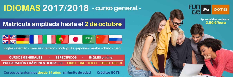 idiomas web plazo ampliado 17 18