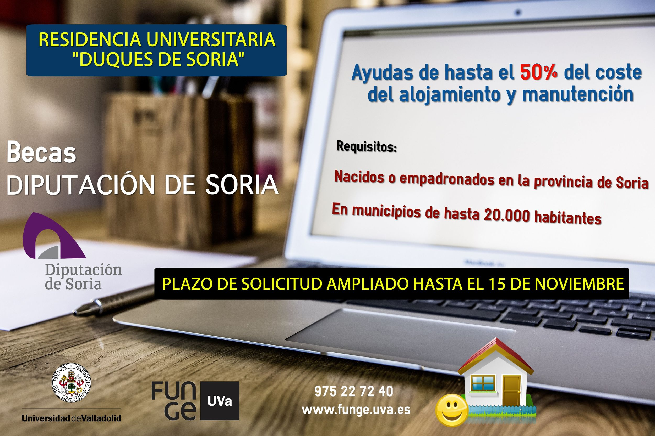 "Becas Residencia Universitaria ""Duques de Soria""."