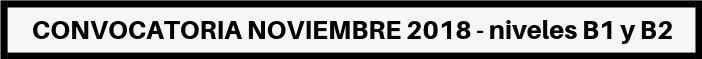 CONVOCATORIA NOVIEMBRE 2018 Banner ACLES