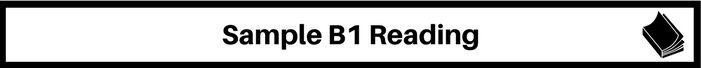 banner b1 reading