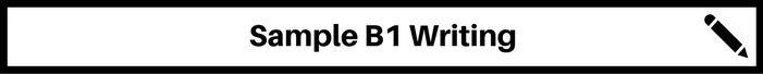 banner b1 writing