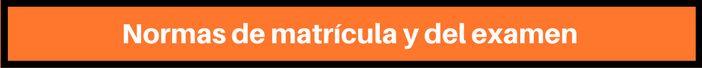 normas matrícula ACLES Banner
