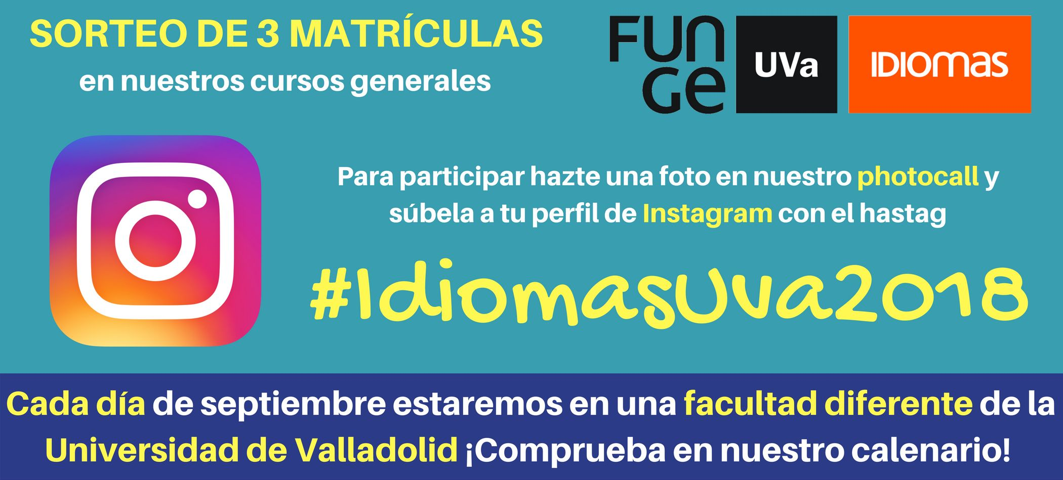 Concurso Instagram Centro de Idiomas