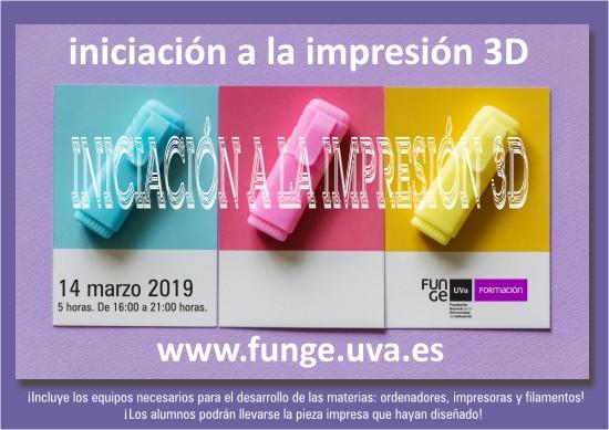 cartel impresión 3d
