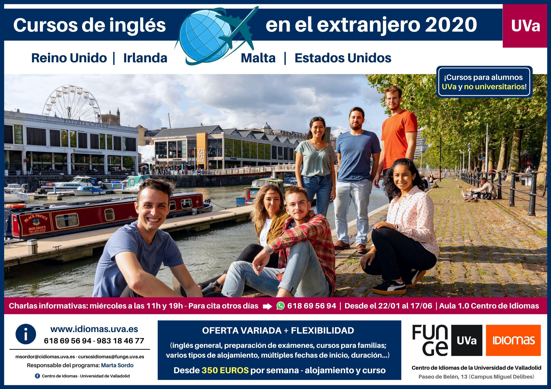 Cursos de inglés en Reino Unido e Irlanda - Centro de Idiomas UVa - Universidad de Valladolid