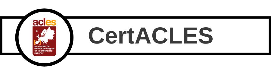 Banner cursos de preparación de examen CertACLES del Centro de Idiomas UVa