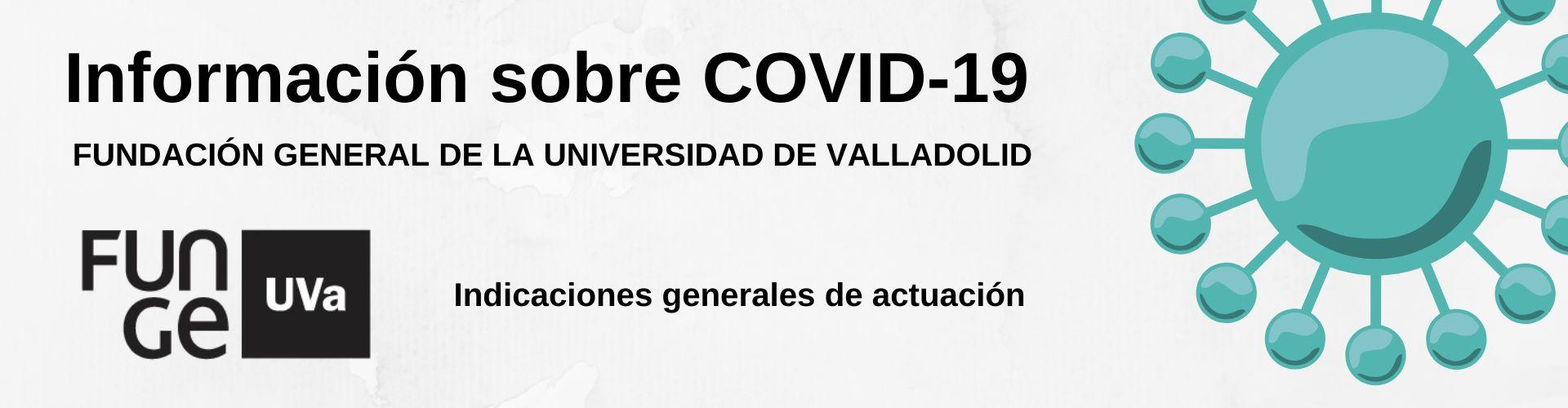 Banner Funge UVa COVID-19 - marzo 2020