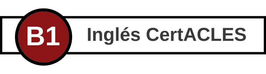 Banner CertACLES B1 inglés - Centro de Idiomas UVa