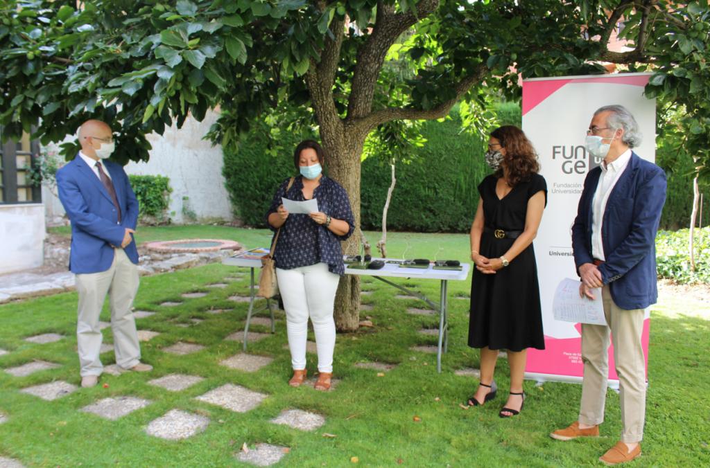 Elena Villarejo, Helga Orejón, Enrique Baeyens y Carlos F. Cabezas.