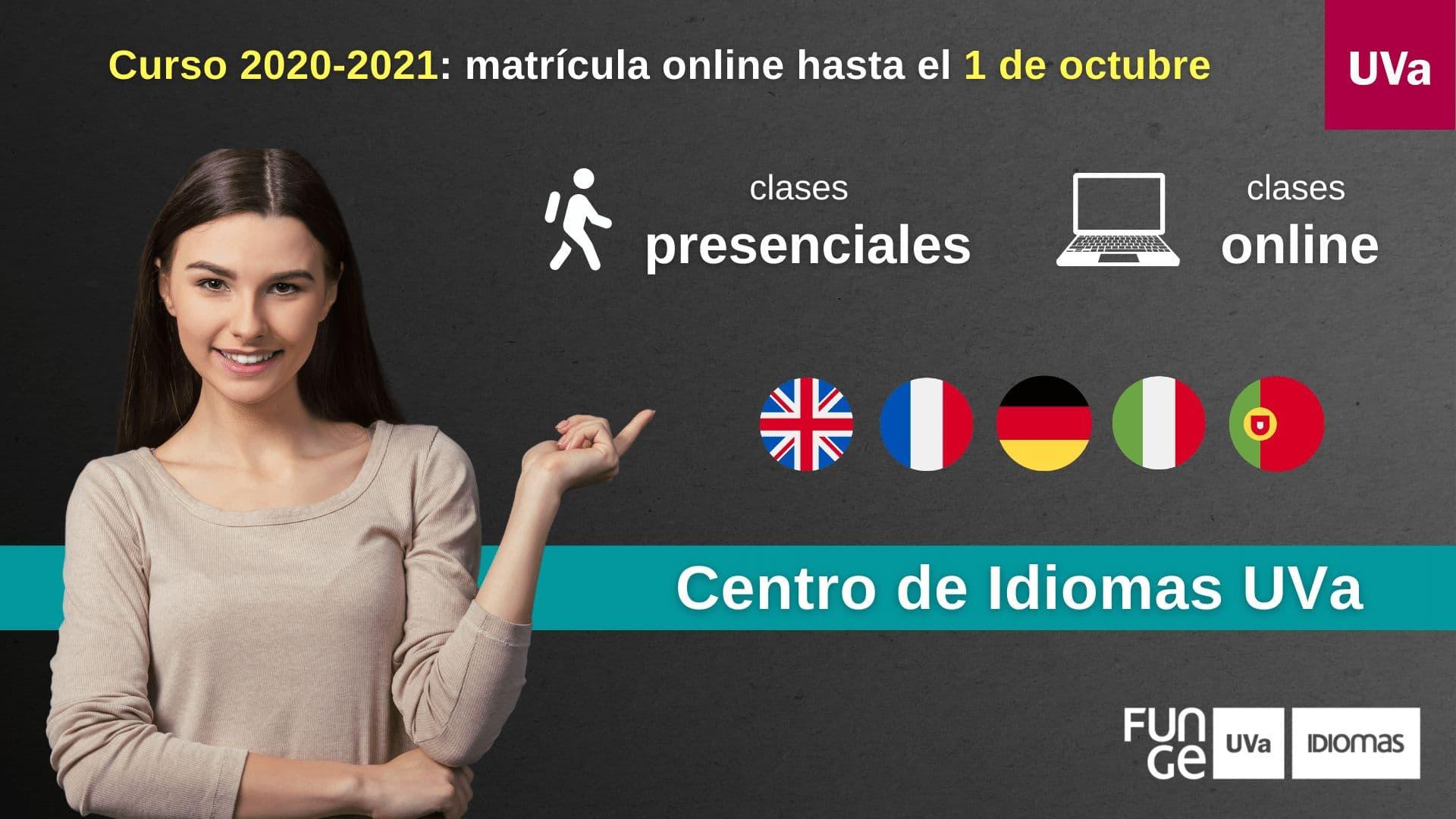 Curso general - Centro de Idiomas de la Universidad de Valladolid - 2020 - 2021